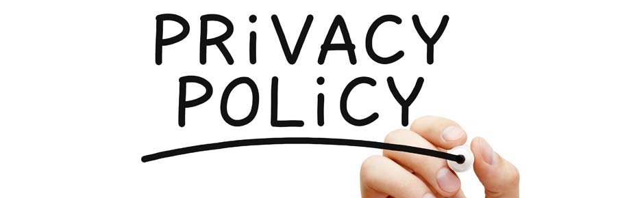 Privacy Page Header